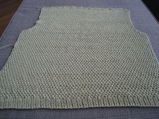 Minimalist Cardigan - Green (WIP) 2