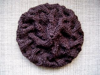 Star Crossed Beret - Brown (top)
